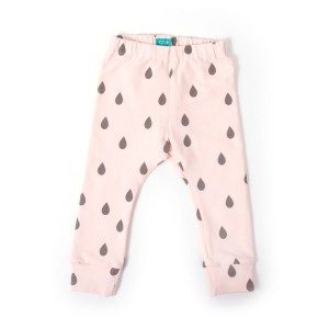 1-3 mcy Pink Drops Legginsy